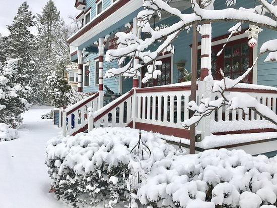 Winter Scene 2017 The 1870 Wedgwood Inn In New Hope Pa Is Open