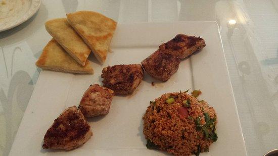 Bolivar, MO: Chicken kabob