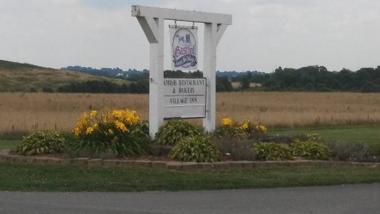 Montgomery, IN: The entrance sign