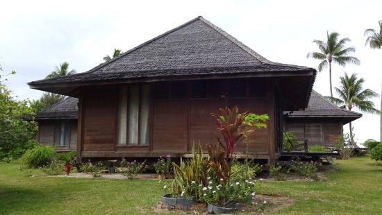 Hotel matira bora bora polinesia francesa opiniones y for Bungalow in stile artigiano