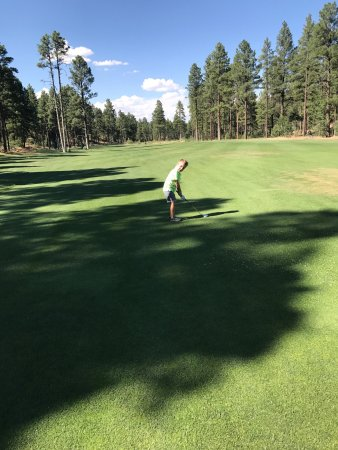 Show Low, AZ: 18th fairway