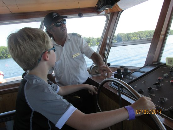 Gananoque, Canadá: A dream come true for this 8 year old!