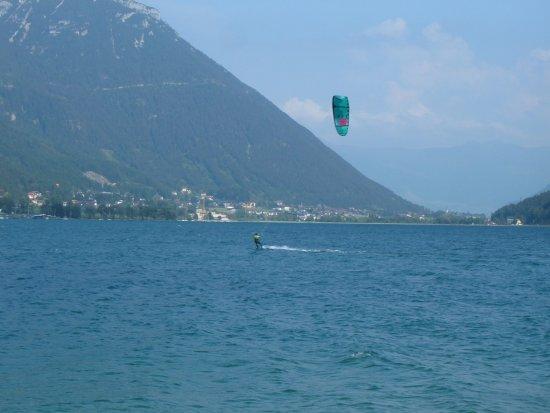 Entners am See: Windsurfer