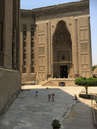 Awesome Mosque And Madrasa Of Sultan Hassan Photo
