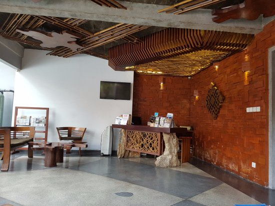 La Reception Picture Of Bracha Villas Bali Seminyak Tripadvisor