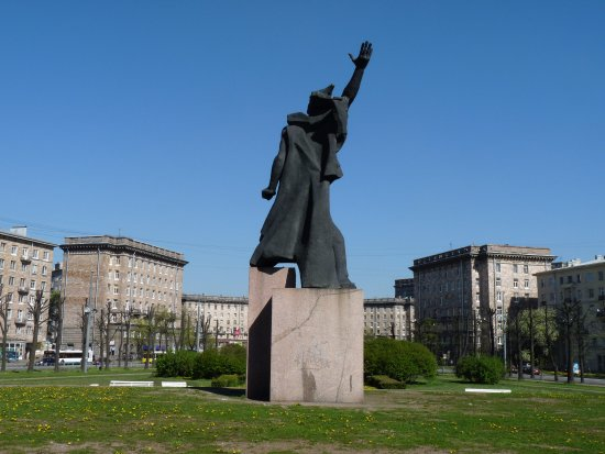 Monument the Heroic Komsomol