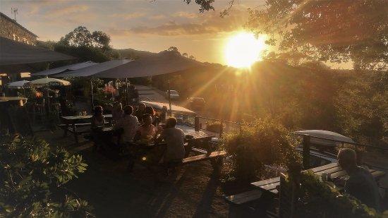 A Casa di Chiara: Coucher de soleil vue sur la terrasse