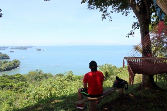 Isla Boca Brava, Panama: Vista desde uno de los puntos más altos de la isla