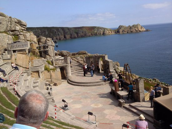 St Austell, UK: Minack Theatre, near Land's End