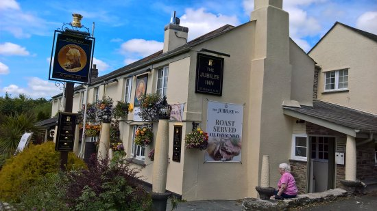 St Austell, UK : The Jubilee Inn, Peylynt, Cornwall