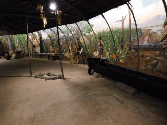 Washington, CT: Pick up and inspect the animal pelts and replicated tools in our Sachem's Longhouse Classroom.