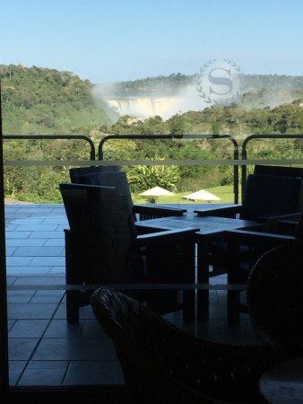 Sheraton Iguazu Resort & Spa: View from the Deck to the Iguazu Falls