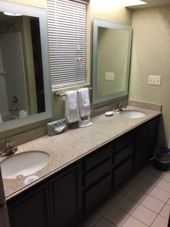 SpringHill Suites Dallas NW Highway At Stemmons/I 35E: Jack U0026 Jill Bathroom