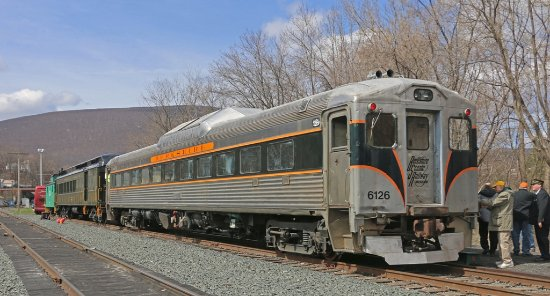 Hoosac Valley Train Ride in North Adams, MA