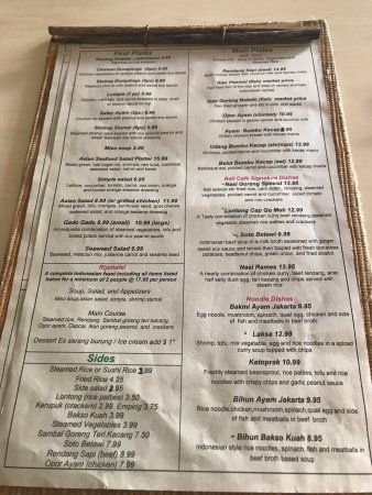 Bali Cafe Miami Fl