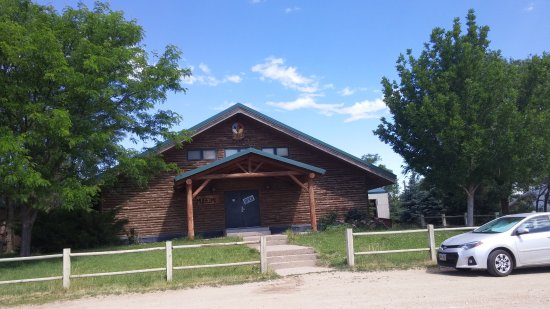 Mission, Dakota del Sud: Front Entrance to Sicangu Heritage Center