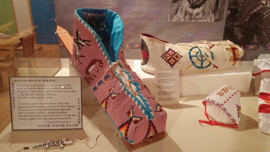 Mission, Dakota del Sur: Exhibits at Sicangu Heritage Center