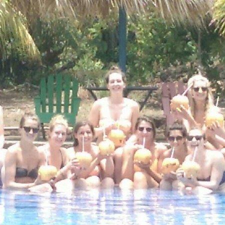 Altagracia, Nicaragua: Refrescandose en la piscina