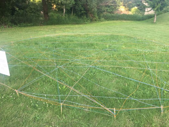 Lanesboro, MN: A yarn project done by the arts collaborative and local youngsters