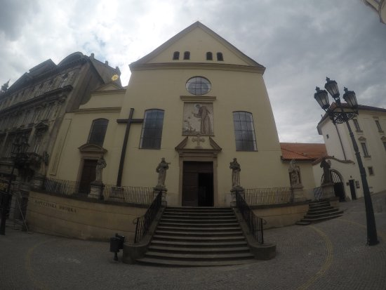 Brno, Czech Republic: The outlook of the monastery