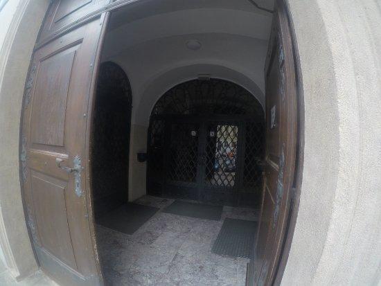 Brno, Czech Republic: The entrance of the monastery