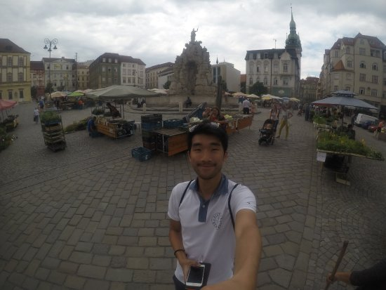 Brno, Czech Republic: Nice photo with the square