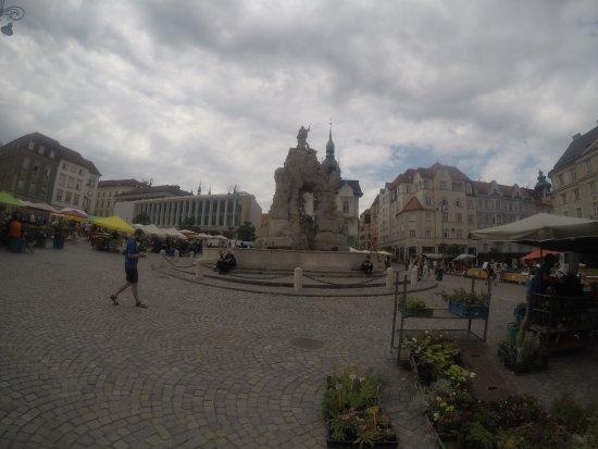 Brno, República Checa: The market