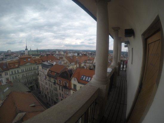 Брно, Чехия: On top of observation deck