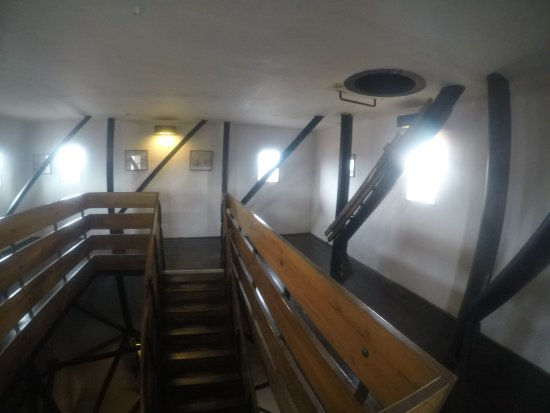 Брно, Чехия: The stairs to the deck