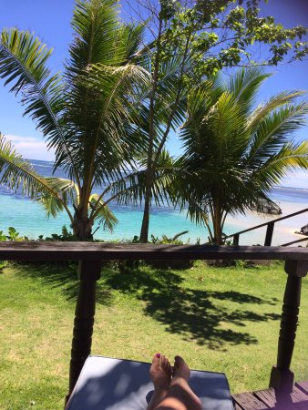 Le Lagoto Resort & Spa: Veiw from Fale 4