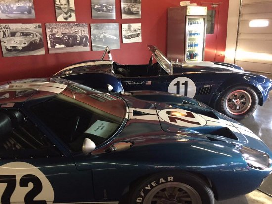 Bondurant Performance Driving School - Day Classes: Great museum of muscle cars