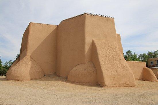 Ranchos De Taos, NM: Think Ansel Adams B&W