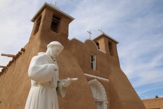 Ranchos De Taos, Nowy Meksyk: Church, front