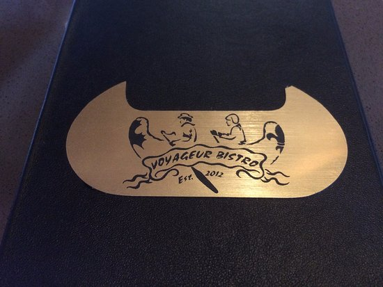 Voyageur Bistro: Menu Logo
