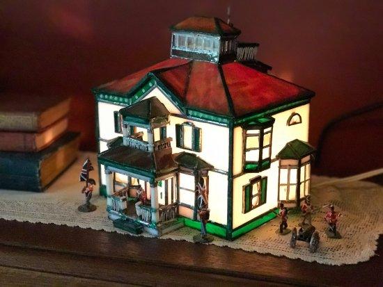 Vinifera, The Inn on Winery Row: Miniture model of Vinifera Inn