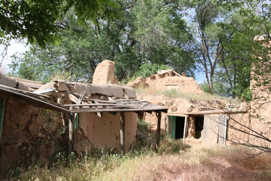 Ranchos De Taos, Nuovo Messico: old adobes