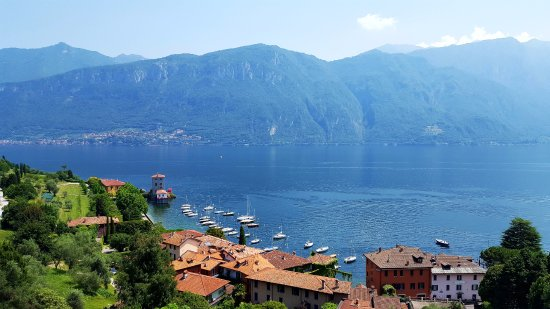 Hotel Bellagio: View from our front balcony. Photos do not do justice to the panorama of views.