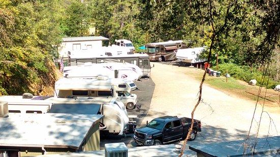 Lakehead, แคลิฟอร์เนีย: RV site area