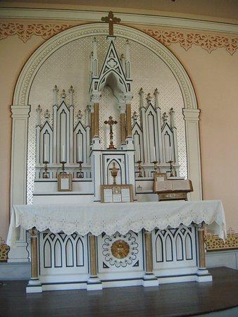 Weatherly, Pensylwania: Inside the church
