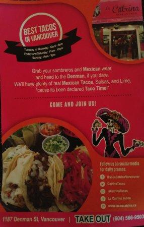 La Catrina: Finally, good Mexican, gracias!