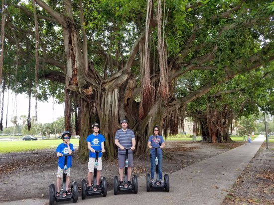 Doo's Amazing Tours: First time my boys have been on a segway.