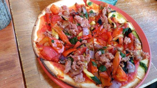 Cobble Hill, كندا: pizza
