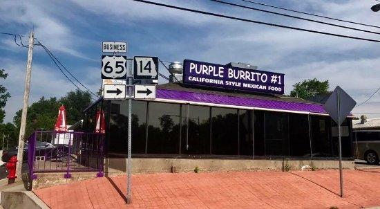 Ozark, MO: El Purple Burrito