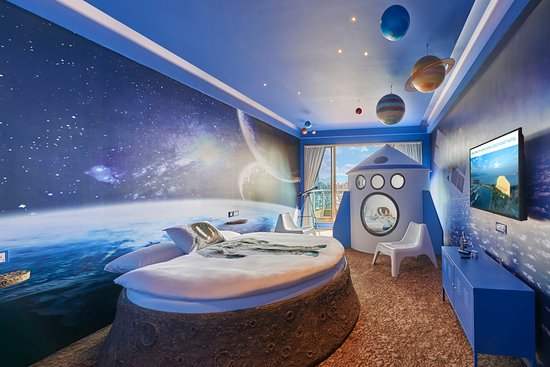 outer space themed room picture of hong kong gold coast hotel