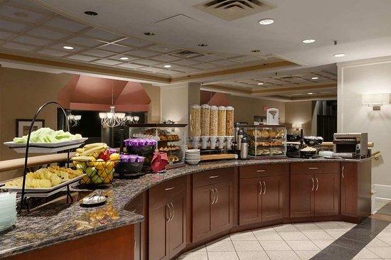 Wayne, Pensilvania: Breakfast Area