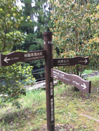 Kinki, Japan: O caminho é bem sinalizado.