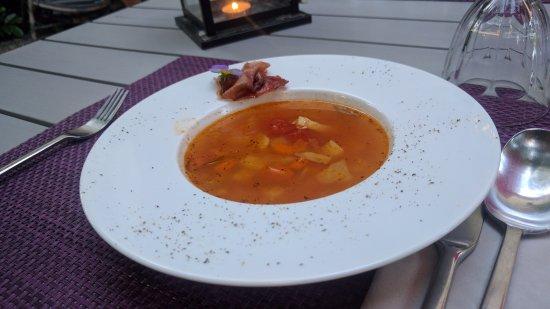 La Colombiere du Chateau : Dinner