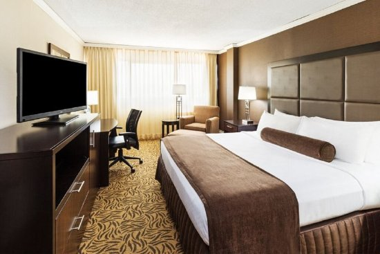 Crowne Plaza Knoxville: King Bed Guest Room
