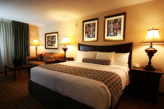 Crowne Plaza Hotel Chicago - Northbrook: Single King Bed Guest Room with Sleeper Sofa