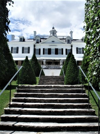Lenox, MA: Side view of mansion